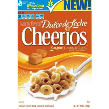 Cheerios Dulce de Leche Caramel Flavored Cereal
