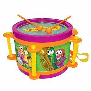 VeggieTales Veggie Drum Ages 3+