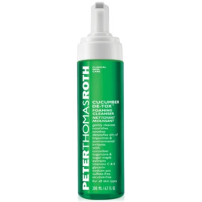 Peter Thomas Roth Cucumber De-Tox Foaming Cleanser, 6 fl oz