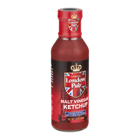 London Pub Ketchup Malt Vinegar
