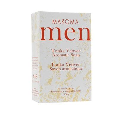 Maroma Men Aromatic Soap, Tonka Vetiver, 5.29 oz