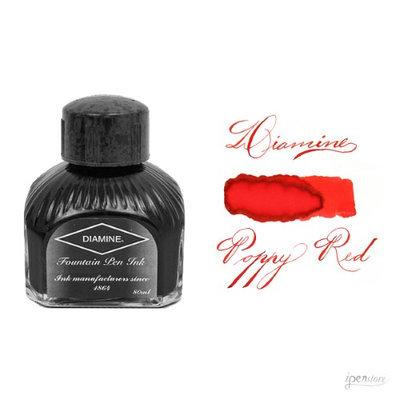 Diamine Ink Bottle POPPY RED - Poppy Red
