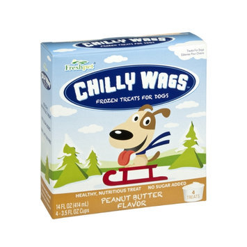Freshpet Chilly Wags Peanut Butter Flavor Frozen Treats for Dogs