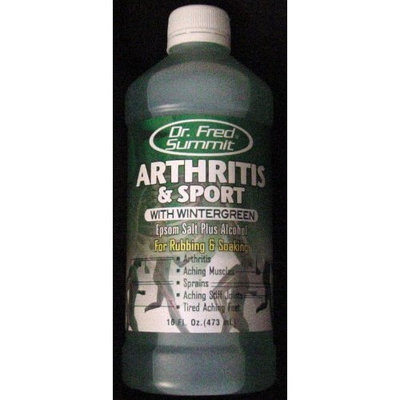 Dr. Fred Summit Arthritis & Sport with Wintergreen