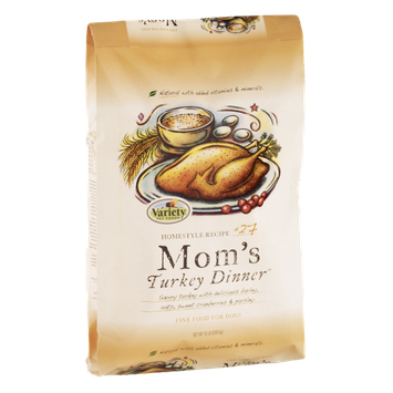 Variety Pet Foods Mom's Turkey Dinner Homestyle Recipe #27 Dog Food