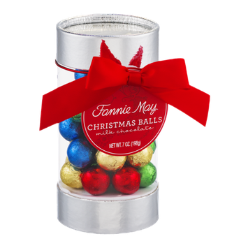 Fannie May Christmas Balls Milk Chocolate