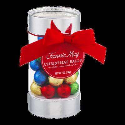 Fannie May Christmas Balls Milk Chocolate