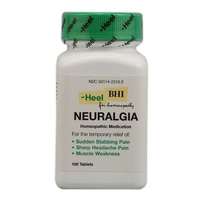 Neuralgia 300 mg by Heel USA BHI. 100 Tablets.