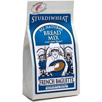Sturdiwheat All Natural Bread Mix, French Baguette, 22.7-Ounce Package (Pack of 4)