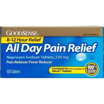 Good Sense All Day Pain Relief Naproxen Sodium Tabs 220 Mg(24x$6.22)