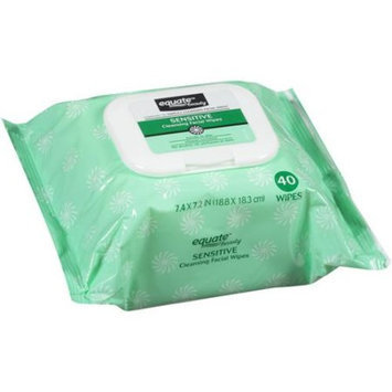 Equate sensitive skin facial wipes