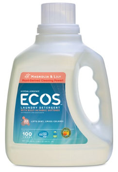 EARTH FRIENDLY PRODUCTS PL9888/04 HE Laundry Detergent,100 oz, Mgnlia/L