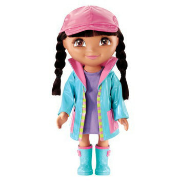 Dora the Explorer Dress Up Collection Rainy Day Doll