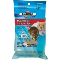 Kaytee Products Wild Bird Kaytee Pet Products SKT100503015 4-Pack Forti-Diet Pro Health Munchables Shred-A-Box Hamster and Gerbil Treat, 2-Ounce