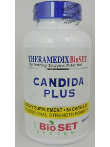 Theramedix - CDX Yeast Management Formula - 84 Vegetarian Capsules