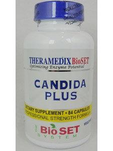 Theramedix - CDX Yeast Management Formula - 84 Vegetarian Capsules