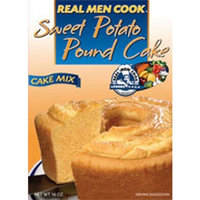 Real Men Cook Sweet Potato Pound Cake, 16-Ounce (Pack of 4)