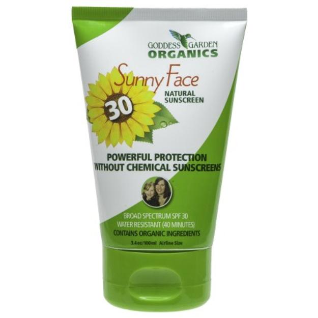 Goddess Garden Sunny Face Natural Sunscreen SPF 30