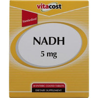 Vitacost Brand Vitacost NADH - Standardized -- 5 mg - 30 Enteric Coated Tablets