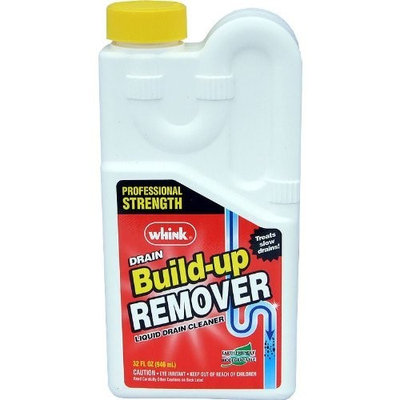 Whink Build-up Remover Liquid Drain Cleaner 32oz