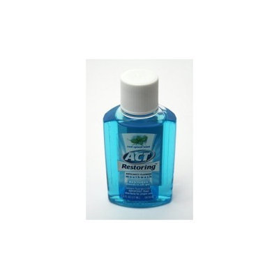 Act Restoring Anti-cavity Mouthwash - 0.6 oz (blue) (box of 48)