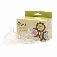 ZoLi Stage 2 Replacement (4-8 mos.) Anti Colic Silicone Nipple