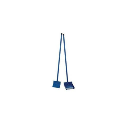 Clean Go Pet ZW4511 11 19 Color Sanitary Scoop Rake Blue