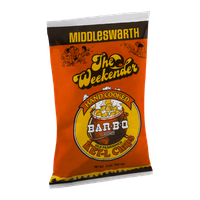 Middleswarth Hand Cooked Old Fashioned KET-L Potato Chips Bar-B-Q Flavored The Weekender