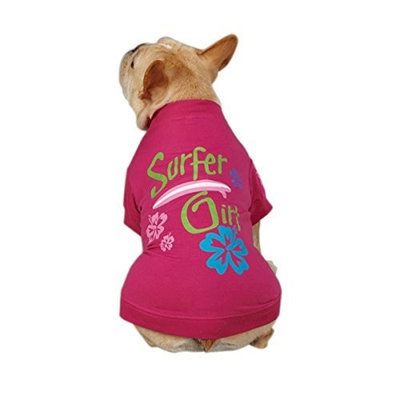 Casual Canine Surf's Up Dog Tee Apparel