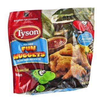 Tyson Chicken Fun Nuggets