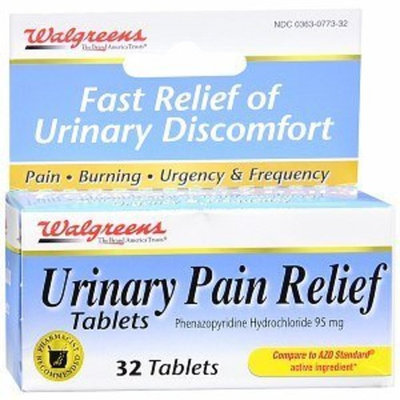 Walgreens Urinary Pain Relief Tablets, 32 ea