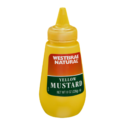 Westbrae Natural Yellow Mustard