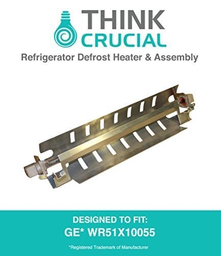 Think Crucial GE WR51X10055 Refrigerator Defrost Heater & Assembly