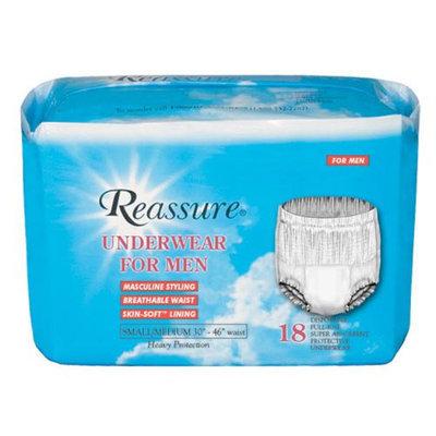 Deepsouth Packing Co.inc. Reassure Underwear for Men, Bag of 18, Medium