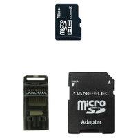 Dane-Elec 3-in-1 16GB Micro SDHC - Black (DA-3IN116GTR-C)