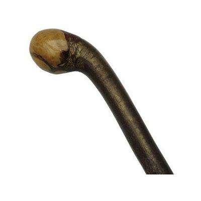 Harvy Men Knob Cane Polished Natural Bark Hazelwood -Affordable Gift! Item #DHAR-9008800