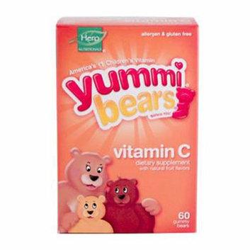Hero Nutritionals Yummi Bears Vitamin C 60 Chewables