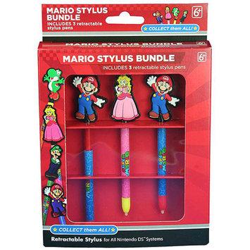 Solutions 2 GO Mario Stylus Bundle for Nintendo DS/3DS