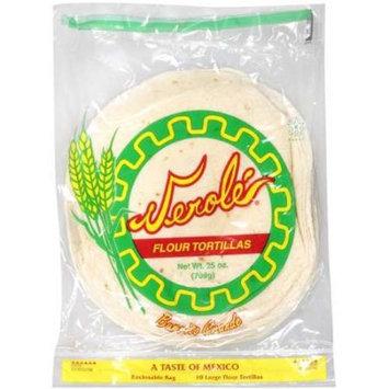Verole: Flour Tortillas, 25 oz