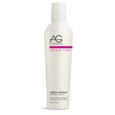 AG Hair Cosmetics Colour Savour Sulfate-Free Shampoo for Unisex, 8 Ounce