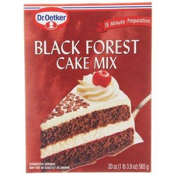 Dr. Oetker Dr Oetker Black Forest Cake Mix, 20-Ounce (Pack of 2)