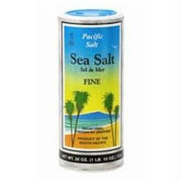 Pacific Salt Fine Sea Salt Shaker (12x26 Oz)