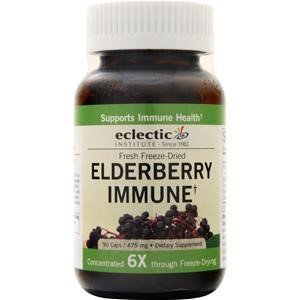Eclectic Institute - Traditional Elderberry Fresh Freeze-Dried 475 mg. - 90 Vegetarian Capsules