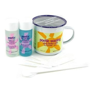 Poetic Waxing Kit - Azulene: Wax + Cleanser + Pre & Post Waxing Oil + Large & Small Sputulas - Bliss - Body Care - 1set