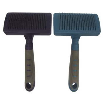 Boots & Barkley Self-Cleaning Slicker Dog Brush - Medium - Colors May