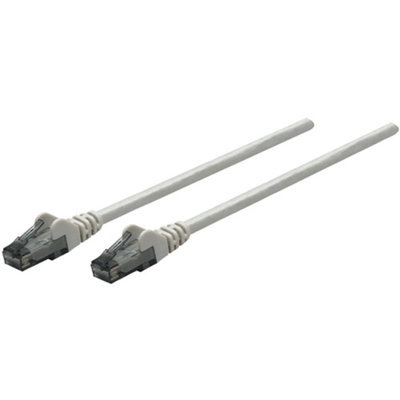 Intellinet 336765 Cat-6 UTP Patch Cable, 14', Gray