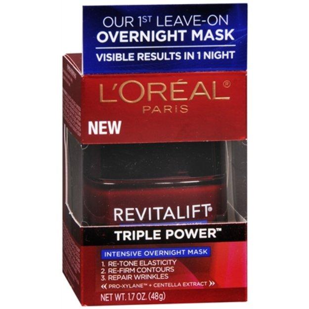 L'Oréal Paris Revitalift Triple Power Intensive Overnight Mask - 1.7