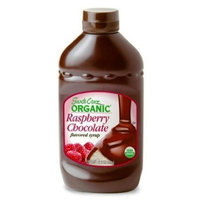 Santa Cruz Organic Syrup, Raspberry Chocolate, 15.5-Ounce Bottles (Pack of 4)