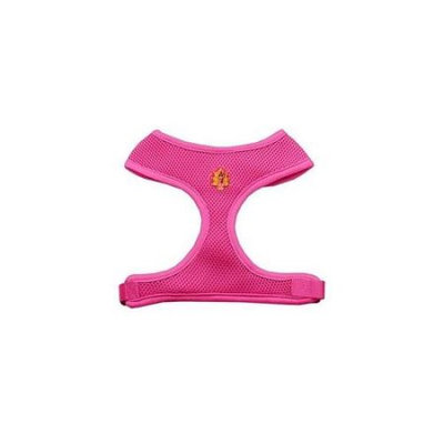 Mirage Pet Products 73-11 MDPK Pink Turkey Chipper Pink Harness Medium