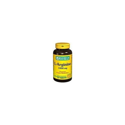 Good 'N Natural - L-Arginine 500 mg. - 50 Capsules